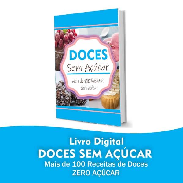 Livro digital Doces sem Açucar