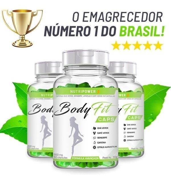 Body Fit Caps Milagre ou Mentira